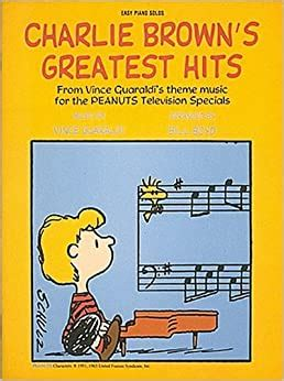 Charlie Browns Greatest Hits Easy Piano Songbook