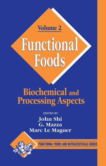 Functional Foods Biochemical And Processing Aspects Volume 1