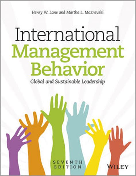 International Management Behavior Changing For A Sustainable World