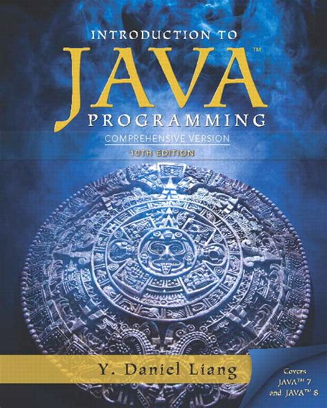 Introduction To Java Programming Comprehensive Version Myprogramminglab With Pearson Etext Access Card Package 10th Edition