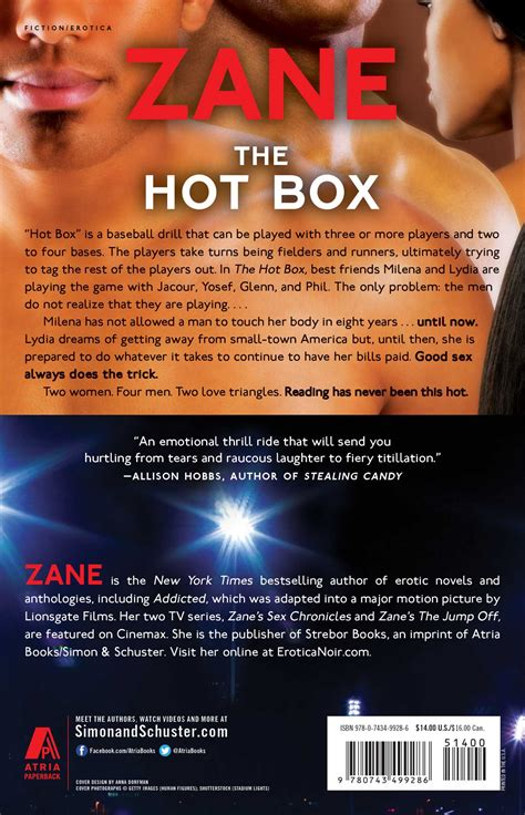 The Hot Box Zane