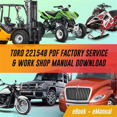 Toro 20476 Factory Service Work Shop Manual