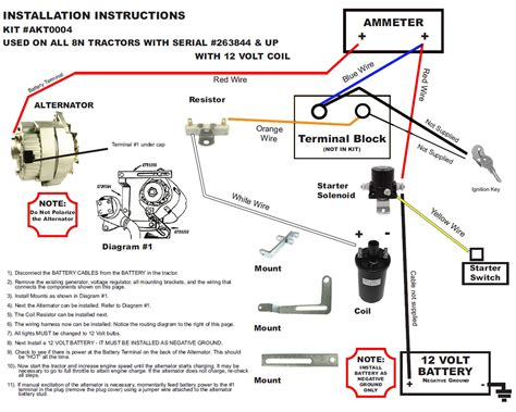 12v Wiring Diagram Ford 800 Tractor Picture